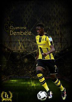 Ousmane Dembele by PanosEnglish.deviantart.com on @DeviantArt