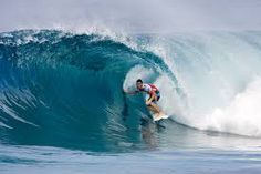 Pipeline: This is the classic Hawaiian wave — amazing, barreling, and mean. It's one of the most famous and most photographed waves there is. If you have just read surfing lesson one - catching waves and are ready to go out and try surfing for the first time, then Pipeline is probably the last place on the planet you want to be