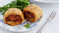 Candice Brown's sage and paprika sausage rolls Candice Brown, Flaky Pastry, Pub Food, Sausage Rolls, Healthy Recipes, Healthy Meals, The Dish, Salmon Burgers, Food And Drink
