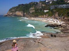 Praia da Joatinga, en Río de Janeiro - http://www.miviaje.info/praia-da-joatinga-en-rio-de-janeiro/