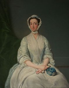 Lucy Manners Graham, 2nd Duchess of Montrose:   Portrait of Lucy Manners (c. 1717-1788), wife of William Graham, 2nd Duke of Montrose, by Benjamin Vandergucht (1753-1794). Oil on canvas, 124.5cm by 99cm. Inscribed on the reverse: painted by B. Van der Gucht 1793 from an Original picture of The Dutchess of Montrose painted in 1740 by A. Soldi. The original painting is at Winton Castle, East Lothian.