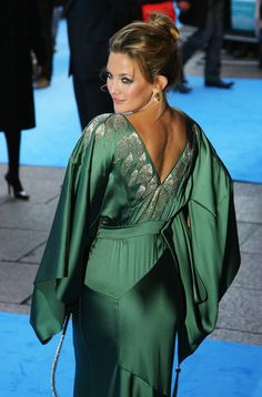 Kate Hudson at the European Film Premiere of Fool's Gold at the Odeon Leicester Square, London. Dress by John Galliano