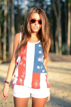 Red, white and blue, i will get this top for stagecoach!