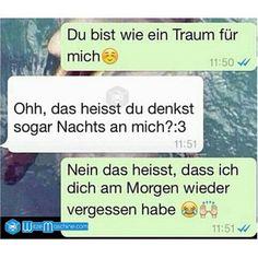 Lustige WhatsApp Bilder und Chat Fails 84 - Traumhaft