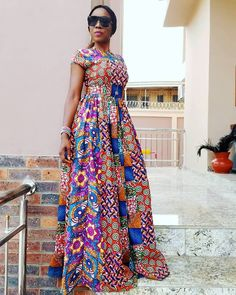 Gorgeous African Print dresses in fashion African Fashion Ankara, African Inspired Fashion, Latest African Fashion Dresses, African Print Fashion, African Dresses For Women, African Attire, Modern African Print Dresses, African Blouses, African Traditional Dresses