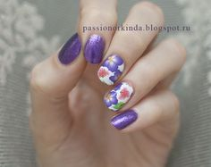Very elegant water decals. Do help in nail art design.
