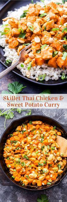 Skillet Thai Chicken
