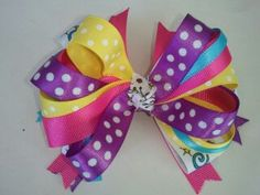 Hair Bow by ItsabelleBoutique on Etsy, $7.00