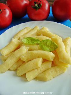 Kopytka bezglutenowe, gluten free http://slodkieniebo.blogspot.com/2014/09/kopytka-bezglutenowe.html