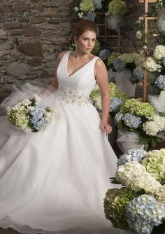There are styles to suit every plus-size bride in the new Callista collection for 2014