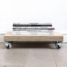 In case you missed it our new website is live - see it at www.monoshop.co.za.  Among our 45(!) new products this has to be one of my personal favourites: Our Plywood On Wheels. Use it as a stand for potted plants as a cart for a basket full of laundry or to store shoes books or a stack of magazines. R450 each excl. shipping - see it under new products.