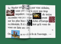nassimbouaza:  First spread - Le Murier 1st issue