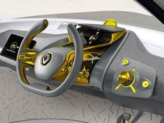 Renault Kwid Concept Interior