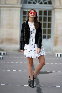 the brunette folk & rock ikks French Fashion Bloggers, Style Parisienne, The Brunette, Nouveau Look, Paris Mode, Parisian Style, Style Me, Personal Style, Folk