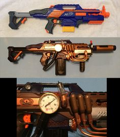 Nerf RapidStrike paint and addition mod.