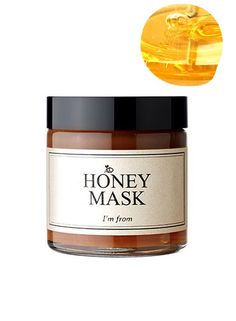 I'M FROM Honey Mask with pure honey (38,7%) from jiri mountains in korea. It prevents acne by opening up the pores to clear out dirt, bacteria, and oil, while h