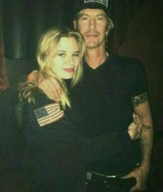 Grace and Duff McKagan
