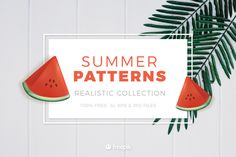 Free Summer Patterns It's August and Summer is dying down, but it's still hot and sunny! With that being said, we have a freebie this week that you'll love. Our friends at Freepik have created a set of Free Summer patterns you can use in your designs. These free Summer patterns are available in AI and EPS formats, so you can scale them to any size. They are useful for all sorts of projects. Take a look at the preview below to see what is included in this handy summer pattern pack. You'll find all sorts of summer patterns, from The post Free Summer Patterns For Fresh Designs (AI + EPS) appeared first on Creative Beacon. Free Web Design, Web Design Tips, Graphic Design Tips, Minimalist Wordpress Themes, Premium Wordpress Themes, Amazing Website Designs, Free Website Templates, Web Design Projects, Portfolio Web Design