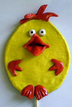 Salt dough chick