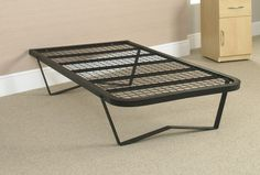 The Kent Bed is a fantastic addition to our heavy duty metal bed range. It is constructed of heavy gauge steel with a welded mesh platform and removable steel legs for easy transportation. Headboard holes are also pre-drilled in readiness for a headboard. Individual Weight Limit: 26 Stone / 165 kg, Total Weight Limit (Based on 2 People): 40 Stone / 254 kg. An ideal solution for care home environments.