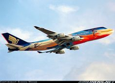 """Singapore Airlines """"Tropical"""""""