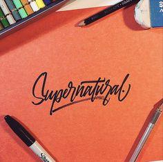 Typography / Supernatural