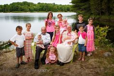 Parry Sound area lakes make a great backdrop for family portraits! Pin from bayshorephotography.com