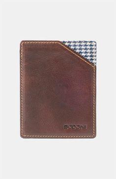 Boconi 'Bryant' RFID Blocker Card Case available at #Nordstrom