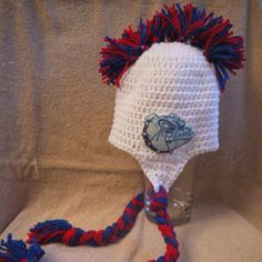 Find this hat and more for sale at www.facebook.com/jesslasher Made by One Knotty Mama