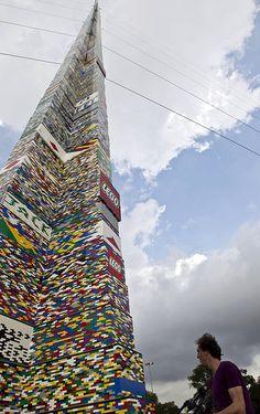Worlds Largest Lego Tower!