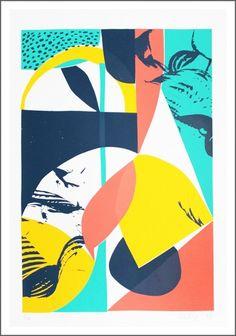 Classe verte à LA / ATELIER BINGO - sérigraphie 4 couleurs - Papier Cyclus Offset 300g