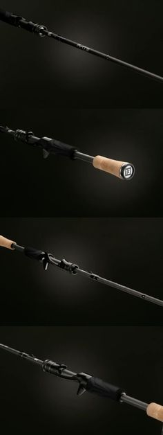 1361ac0043c 13 Fishing One 3 Fate Black Casting Rod - 7 1 Medium 3 In One