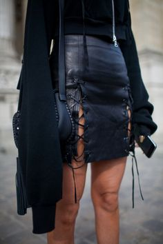 Leather & Long Sleeves