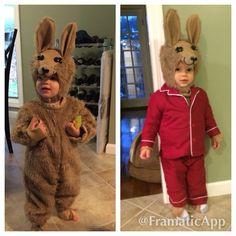 Llama llama red pajama costume for my grandson