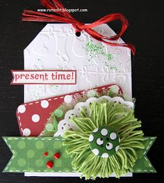 RUTSCHT: Etiquetas Navideñas para los regalos de Navidad