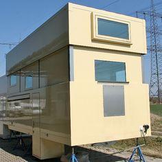 EX63-HD Enclosed Trailer Camper, Small Camper Trailers, Cargo Trailer Camper, Pickup Camper, Small Campers, Petit Camping Car, Truck Camping, Camping Glamping, Overland Truck