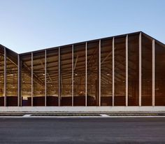 Image 1 of 13 from gallery of Smestad Recycling Centre / Longva arkitekter. Photograph by Ivan Brodey Factory Architecture, Timber Architecture, Industrial Architecture, Contemporary Architecture, Architecture Design, Recycling Plant, Recycling Center, Recycling Facility, Watercolor Architecture