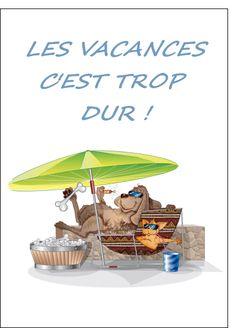 Carte C est trop dur les vacances pour envoyer par La Poste, sur Merci-Facteur !
