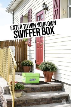 Enter to win your own Swiffer Box at livelaughrowe.com