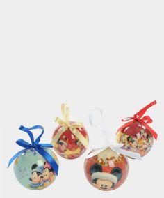 Kit 4 palline in Confezione regalo Mickey & Friends - TocTocShop.com - Fantastico per i Bambini, Imbattibile nei Prezzi