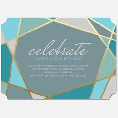 The Best Birthday Invitations—by a Professional Party Planner 50th Birthday Party Ideas For Men, 50th Birthday Party Invitations, Adult Birthday Party, 40th Birthday Parties, Unique Invitations, Custom Cards, Birthdays, Stationery, Fancy