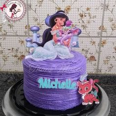 bolo jasmine - Pesquisa Google Jasmine, Birthday Cake, Desserts, Cake, Tailgate Desserts, Deserts, Birthday Cakes, Postres, Dessert