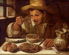 Galleria Colonna, Roma - Annibale Carracci, Il mangiatore di fagioli (1583-1585)