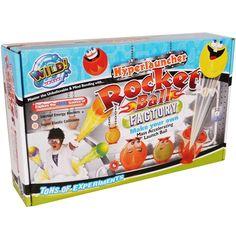 Wild Science Hyperlauncher Rocket Ball Factory £12.99