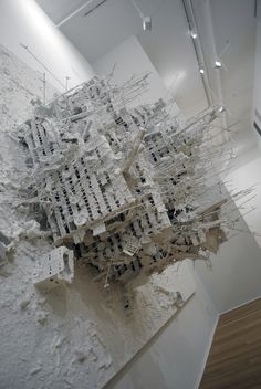 Gerry Judah- Paintings (2005-12)