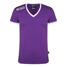 Look good and feel good in a fitted V-Neck UtiliTEE®. Made from supersoft lightweight cotton blend, this V-neck is comfortable, sleek and perfect for anyone who wants to look cool.  It's sporty design features curved design on front and back, BCNÜ Utility Sportswear Logo across the shoulder with contrasting rib around the sleeves and neck.    You'll look the part when you dress it up with a pair of jeans or shorts or even worn under a sports jacket for those cooler evenings…