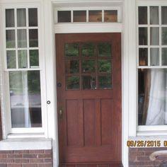 Exterior Door Half Glass   http://thefallguyediting.com ...
