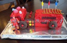 Fire Truck Birthday Cake Ideas | fire trucks