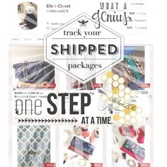 #poshtip •tracking• Track your shipped packages directly through Poshmark! Follow the steps in the photos to find out how! #theposhlife Other