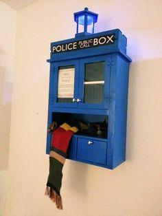 MadHardly - TARDIS Storage Cabinet
